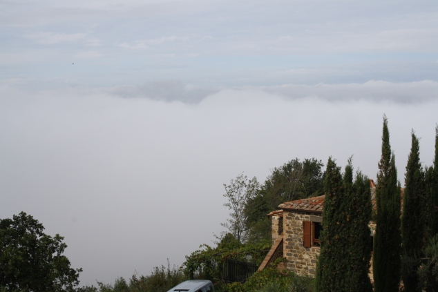 Clouds Beneath Montalcino
