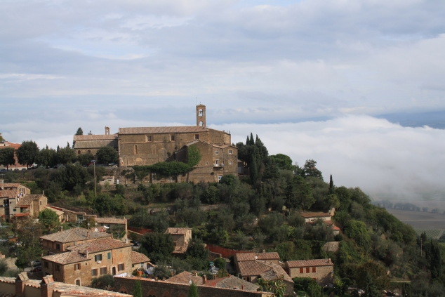 More clouds in Montalcino