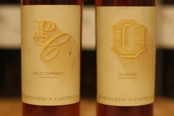 Fernando de Castilla Palo Cortado and Oloroso