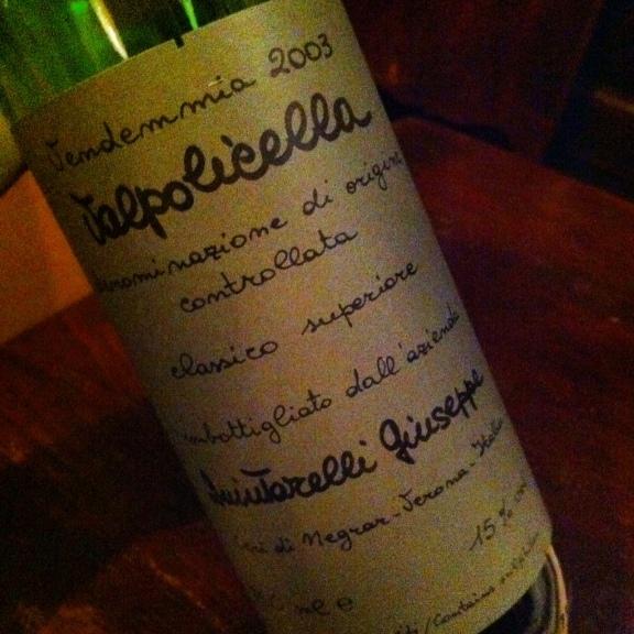 Quintarelli Valpolicella Classico Superiore 2003