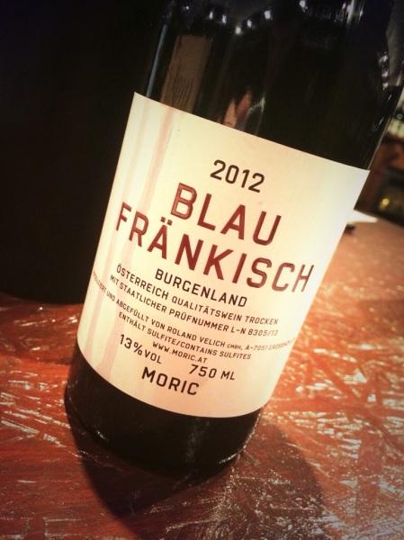Moric Blaufrankisch