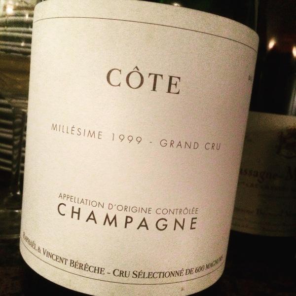 Bérêche Cöte 1999 Champagne